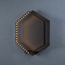 HEXA WALL Black | Wall lights | Le deun