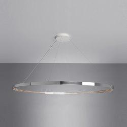 OMEGA 120 Polished aluminium | Suspended lights | Le deun