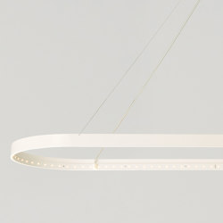 OVAL 100 White | Suspended lights | Le deun