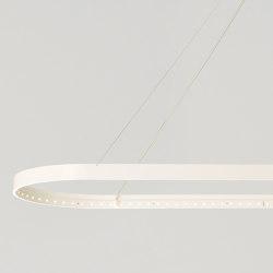 OVAL 100 White | Lampade sospensione | Le deun