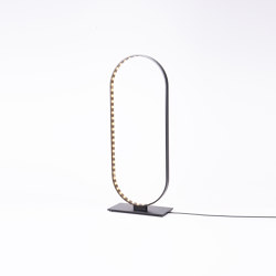 OVAL TABLE Black | Table lights | Le deun
