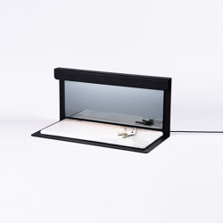 PLI TRAY Black | Table lights | Le deun
