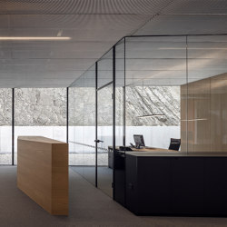 GM ZARGENPROFIL | Wall partition systems | Glas Marte