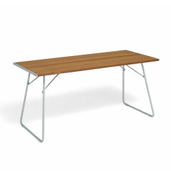 April Go rectangular table | Esstische | Vestre
