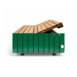 Stripes storage | Benches | Vestre
