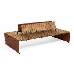 Vroom bench | Panche | Vestre