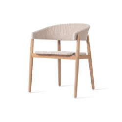 Mona dining chair teak | Sillas | Vincent Sheppard