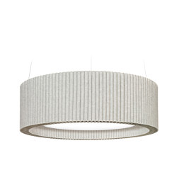 Ceiling object Wave with luminaire | Lampade sospensione | HEY-SIGN