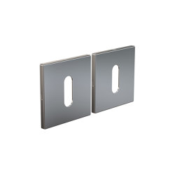 Architectual Hardware | Key Hole Rose Kube 3002 | Rosetten | Frost