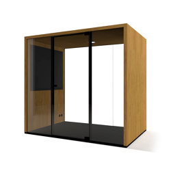 Lohko Box 3 Oak | Office Pods | Taiga Concept