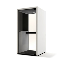 Lohko Phone Booth White Laminate | Telefonkabinen | Taiga Concept