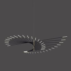 _M101 PENDANT LAMP BLACK/BRASS | Suspended lights | Henri Bursztyn
