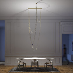 Chaindelier | Suspended lights | DAVIDE GROPPI