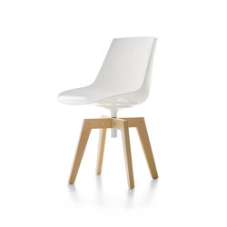 Flow Iroko | Stühle | MDF Italia