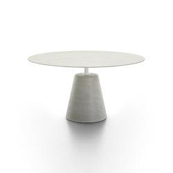 Rock Table | Mesas comedor | MDF Italia