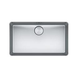 Mythos Bowl MYX 210-70 Stainless Steel | Kitchen sinks | Franke Kitchen Systems