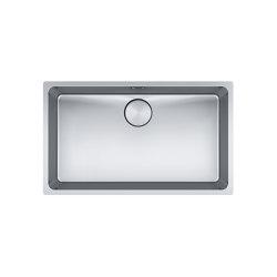 Mythos Bowl MYX 110-70 Stainless Steel | Kitchen sinks | Franke Kitchen Systems