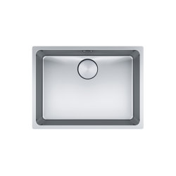 Mythos Bowl MYX 110-55 Stainless Steel | Kitchen sinks | Franke Kitchen Systems