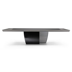 Black & More | Fix table 320 | Dining tables | MALERBA