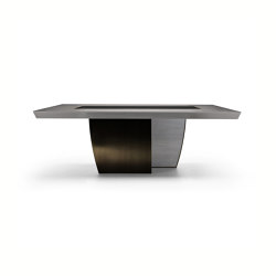Black & More | Fix table 200 | Dining tables | MALERBA