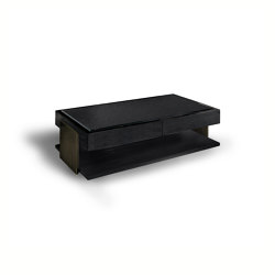 Black & More | Coffee table with drawers | Couchtische | MALERBA