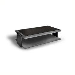 Black & More | Rectangular coffee table | Mesas de centro | MALERBA