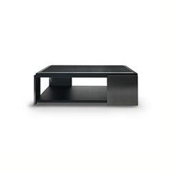 Black & More | Squared coffee table | Mesas de centro | MALERBA