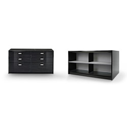 Black & More | Big file drawer 80 | Aparadores | MALERBA