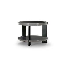 Black & More | Round table 70 | Couchtische | MALERBA