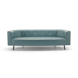 Black & More | Oval sofa 254 | Canapés | MALERBA