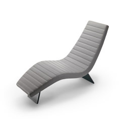 Black & More | Chaise lounge | Chaise longue | MALERBA
