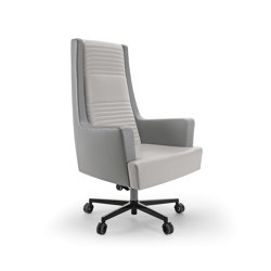 Black & More | High office chair | Office chairs | MALERBA