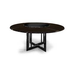 Perfect Time | Round table 180 | Mesas comedor | MALERBA