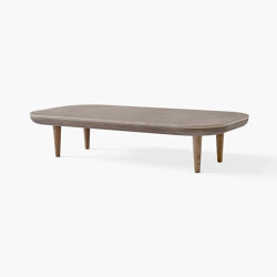 Fly Table SC5 Smoked Oak w. Honed Azul Valverde | Coffee tables | &TRADITION