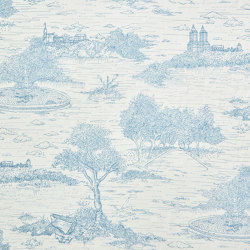 Central Park Toile 692 | Drapery fabrics | Zimmer + Rohde