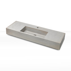 dade CASSA 120 concrete sink (middle)   Wash basins   Dade Design AG concrete works Beton