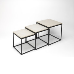 dade LAURA concrete side tables (set) | Tables gigognes | Dade Design AG concrete works Beton