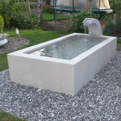 Fountains | dade CONCRETE FOUNTAIN CUSTOM MADE | Fountains | Dade Design AG concrete works Beton