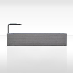 Fountains | dade CONCRETE FOUNTAIN PREMIUM 220 | Fountains | Dade Design AG concrete works Beton