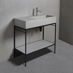 Washbasin furniture | dade LAURA 90 washstand furniture | Wash basins | Dade Design AG concrete works Beton