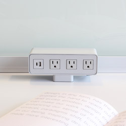 Power Qube | USB power sockets | Teknion