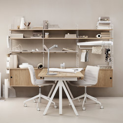 Works Sit-stand table | Desks | string furniture