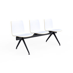 Sola Beam Chair | Bancos | Martela