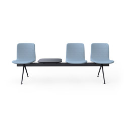 Sola Beam Chair | Benches | Martela