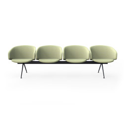 Sola Beam Chair | Panche | Martela