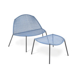 Bloom Lounge Chair with footrest | Armchairs | Fischer Möbel