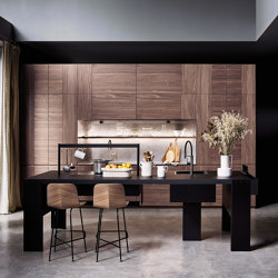 Intarsio | Time bridge | Fitted kitchens | Cesar