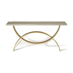 Fishtail | Small Fishtail Console Table | Console tables | Porta Romana