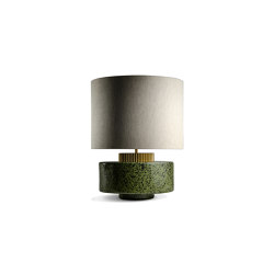 Marlowe Lamp Fennel | Table lights | Porta Romana