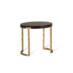 Alberto Oval Drum Table | Coffee tables | Porta Romana